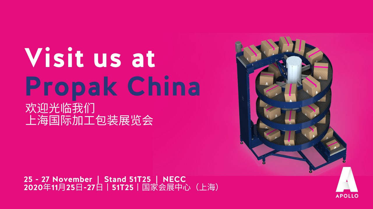 Apollo will participate in the ProPak China in Shanghai!