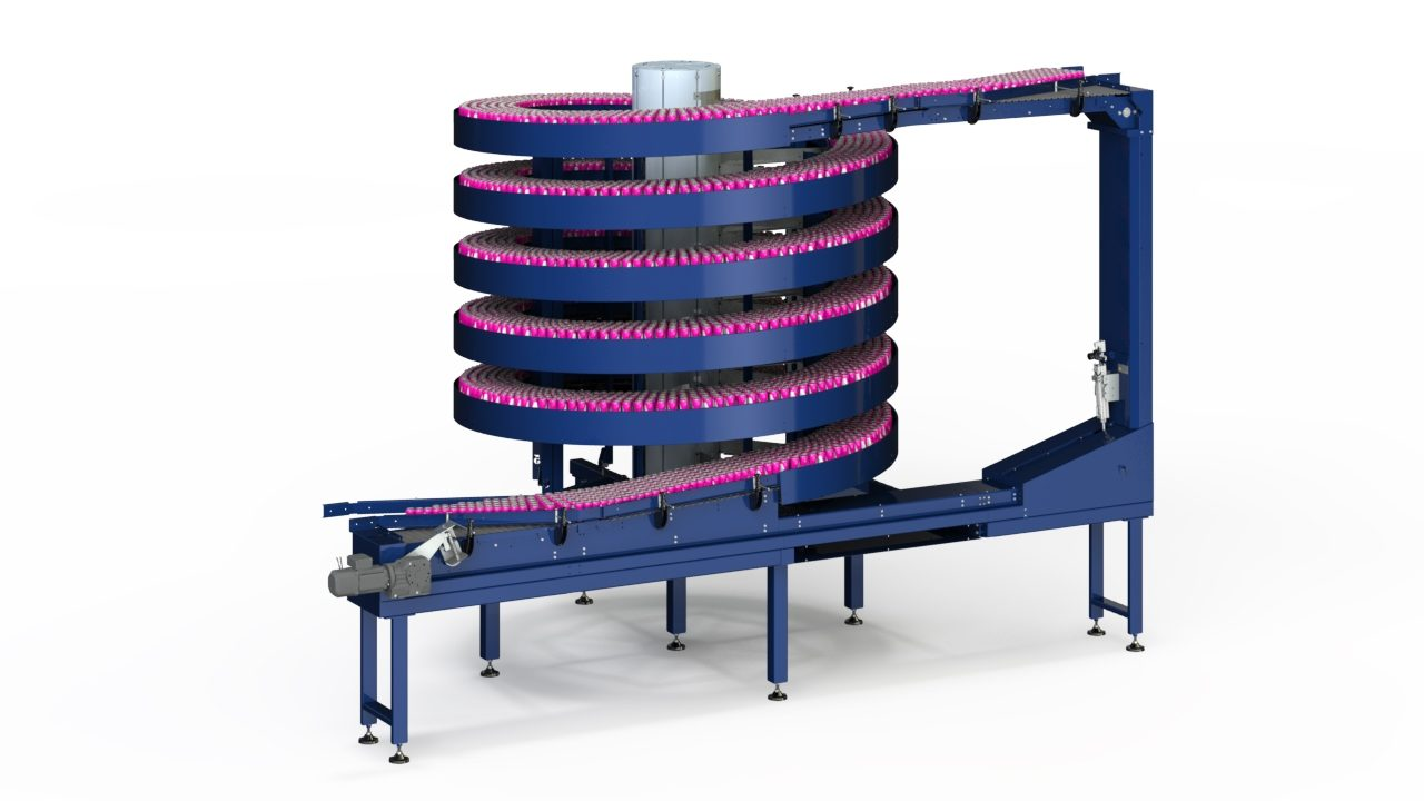 Mass Flow Spiral Conveyor