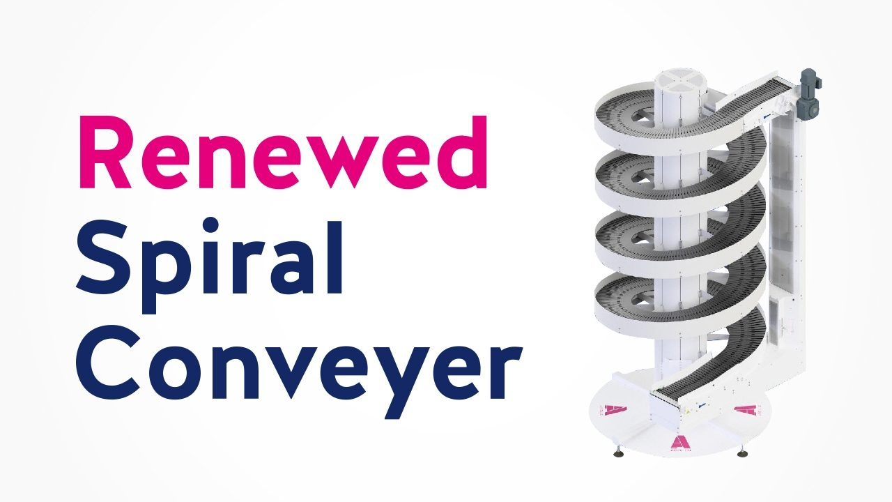The Renewed Single Lane Spiral Conveyor