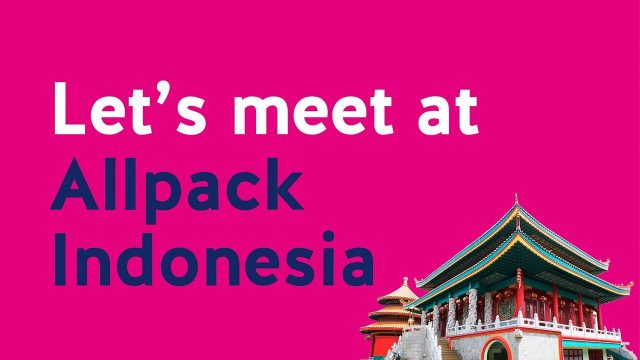 We introduce our new Area Sales Manager Asia at Allpack Indonesia