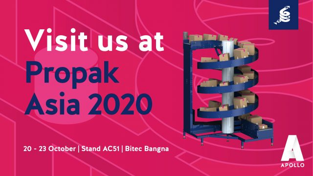 Meet us at the ProPak Asia 2020 in Bangkok from October 20th until the 23rd
