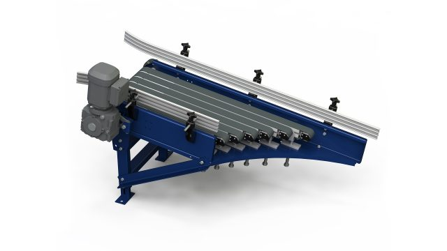 Shoot in and out Conveyor